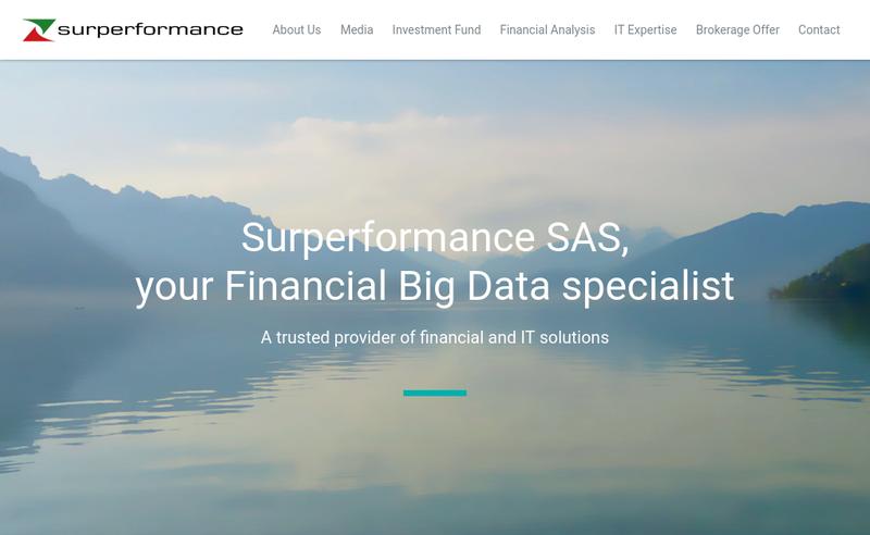 Capture d'écran du site de Superformance-Zone Bourse