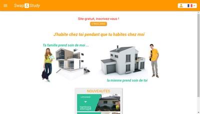 Site internet de Swap And Study