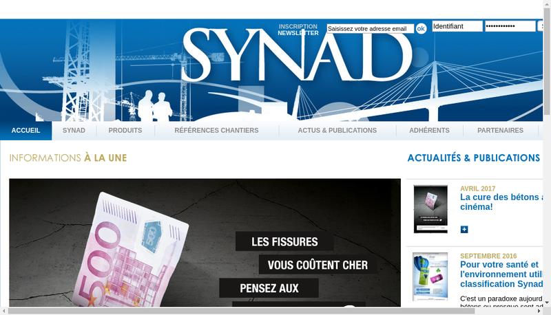 Capture d'écran du site de Chryso Participations