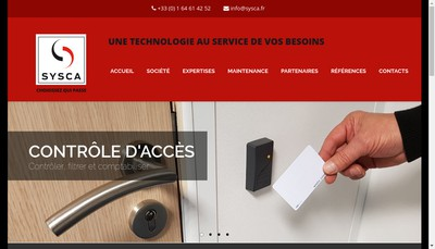 Site internet de Sysca