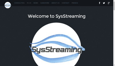Site internet de Sysstreaming