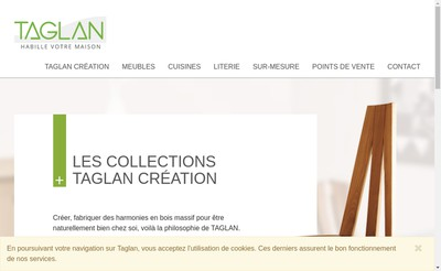Site internet de Taglan
