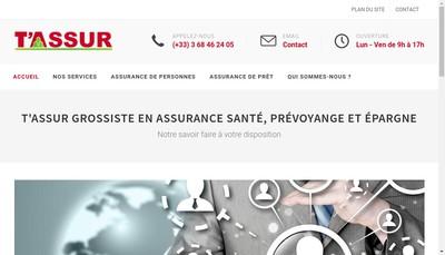 Site internet de T'Assur