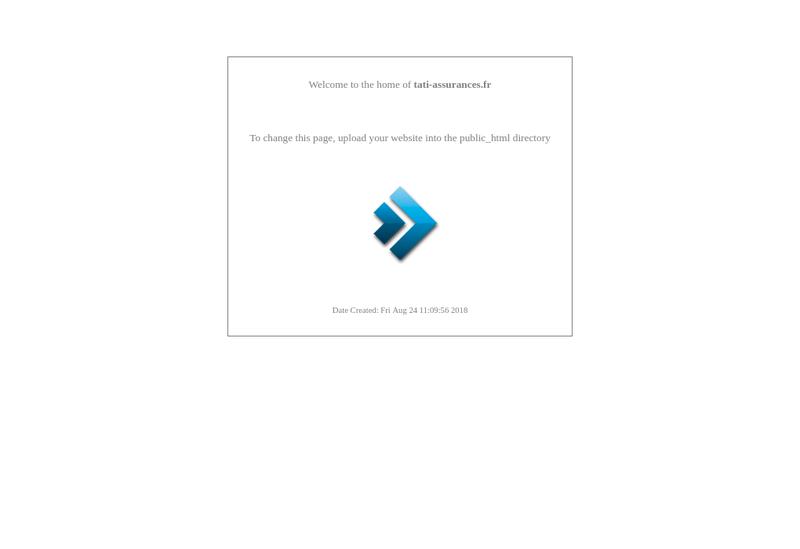 Capture d'écran du site de Cie Financiere des Sce Affinitaires