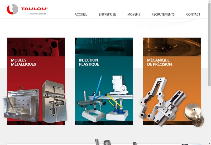Capture d'écran du site de Taulou