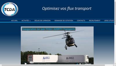 Site internet de Transports Charles Dehergne Affretement