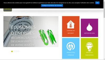 Site internet de Tec Control