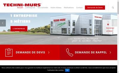 Site internet de Techni Murs