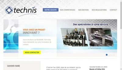 Site internet de Technis