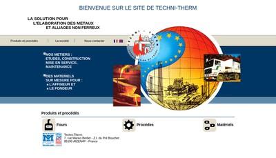 Site internet de Techni Therm