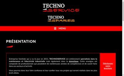 Site internet de Technoservice Poussignac