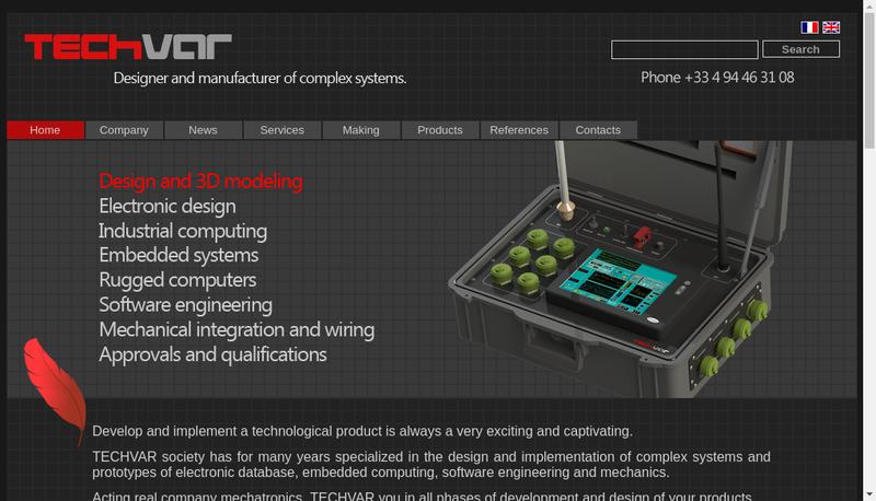 Capture d'écran du site de Computerlog