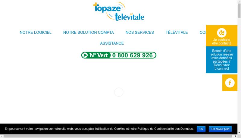 Capture d'écran du site de Televitale Kcm