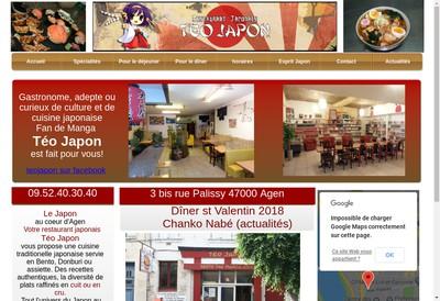 Site internet de Teo Japon