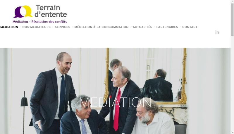 Capture d'écran du site de Bon Pour Accord