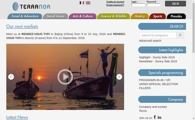 Site internet de Terranoa