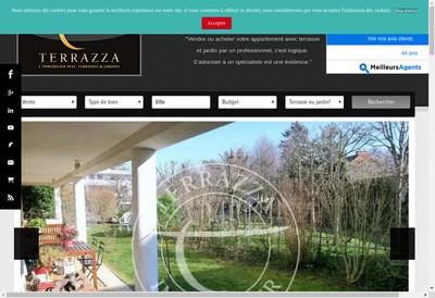 Site internet de Terrazza Immobilier
