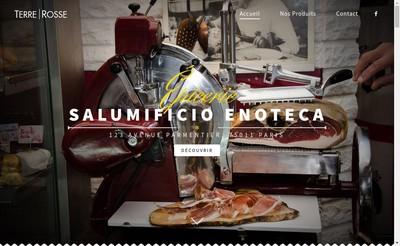 Site internet de Pane Olio E Pomodoro