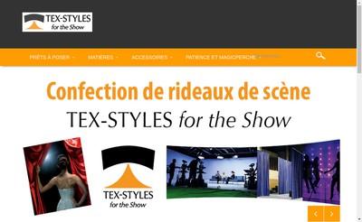 Site internet de Show-Tex