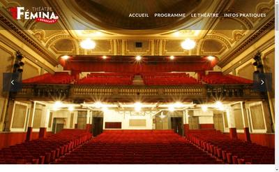 Site internet de Theatre Femina