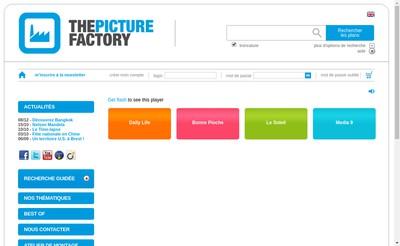 Site internet de The Picture Factory