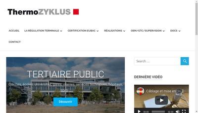 Site internet de Thermozyklus