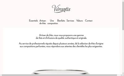 Site internet de Verantis