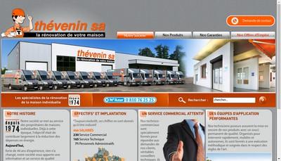 Site internet de Thevenin SA
