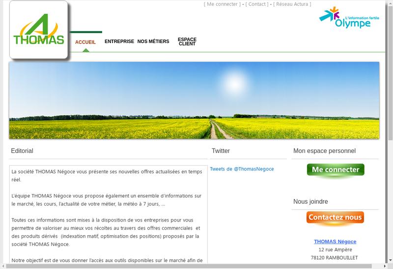 Capture d'écran du site de Hotel Saint Romain