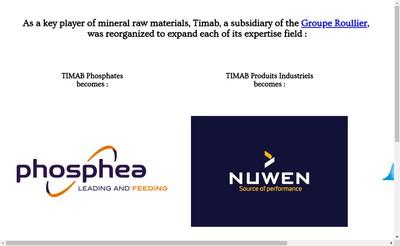 Site internet de Timab Industries