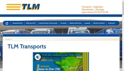 Site internet de TLM