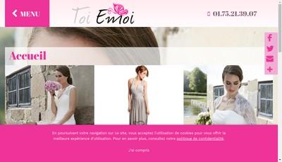 Site internet de Toi Emoi