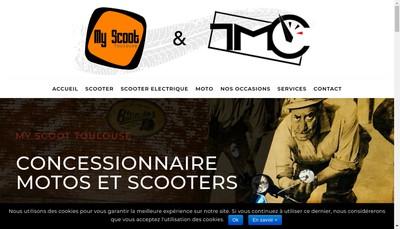 Site internet de My Scoot Toulouse