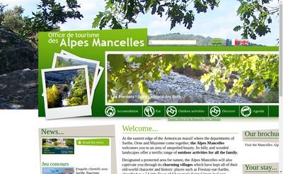Site internet de Les Alpes Mancelles