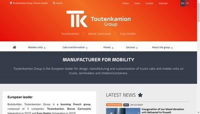Site internet de Design By Toutenkamion