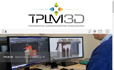 Site internet de Tplm - 3D