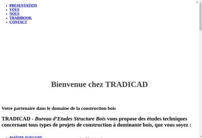 Site internet de Tradicad