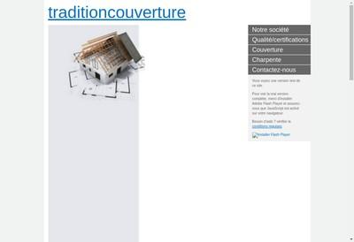 Site internet de Tradition Couverture & Services