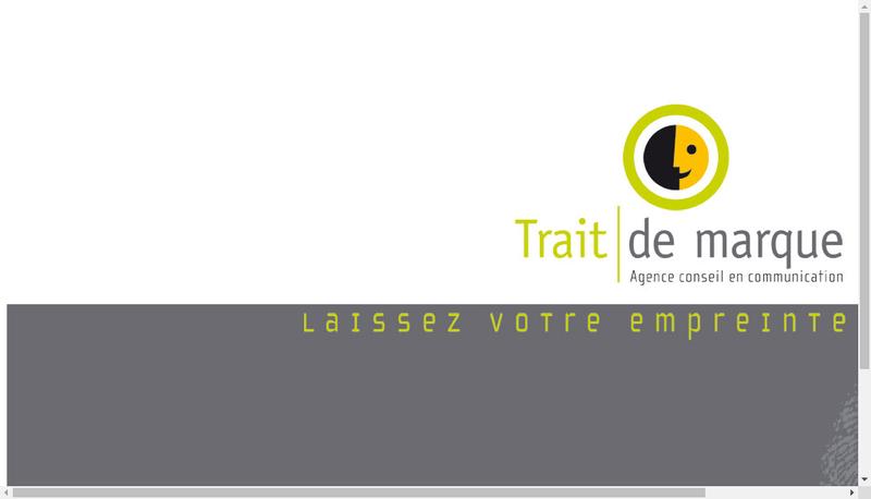 Site internet de Trait de Marque Paris