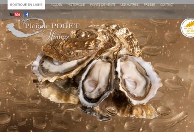 Capture d'écran du site de Giron Traiteur SARL
