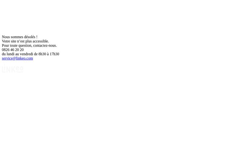 Capture d'écran du site de Charcuterie Lavergne SARL