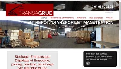 Site internet de Transagrue