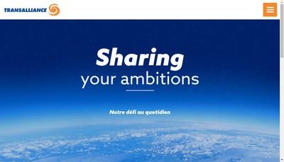 Site internet de Transalliance Service
