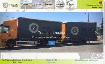 Site internet de Transeo-Logistique SAS