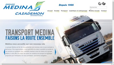 Site internet de Medina