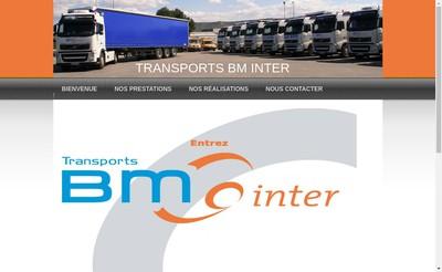 Site internet de B-M Inter