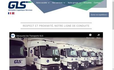 Site internet de Gonzalez Logistique Services