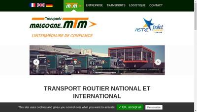 Site internet de Mtm