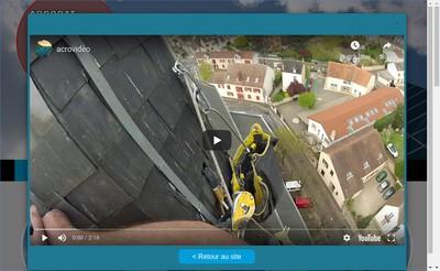Site internet de Acrobat