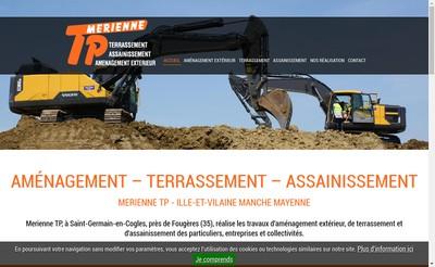 Site internet de Merienne Tp